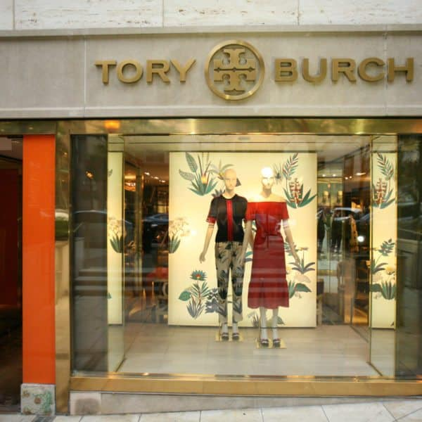 tory burch store front design